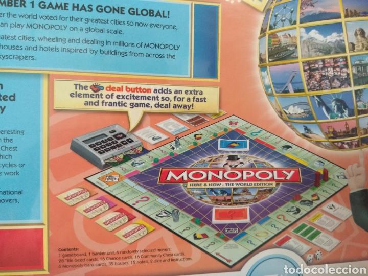 Juegos de mesa: Monopoly Edición Mundial votado por el publico en inglés - Foto 4 - 179953093