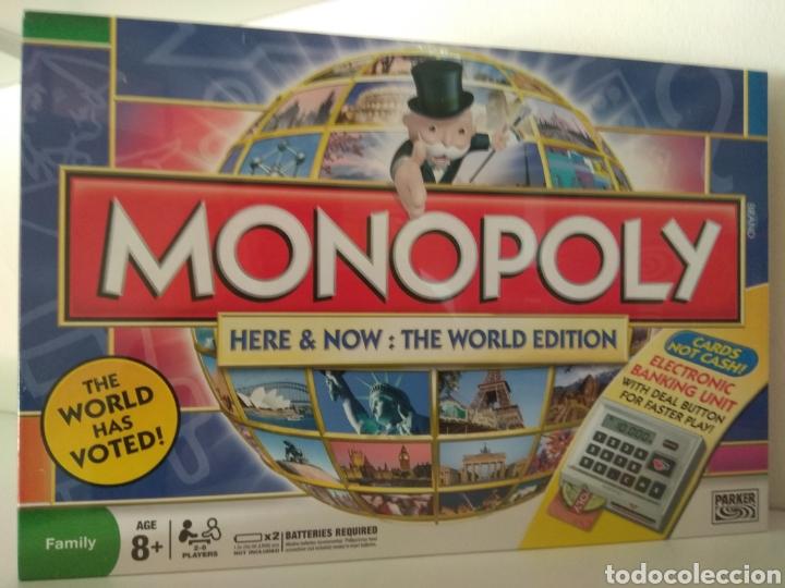 MONOPOLY EDICIÓN MUNDIAL VOTADO POR EL PUBLICO EN INGLÉS (Juguetes - Juegos - Juegos de Mesa)