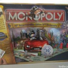 Juegos de mesa: MONOPOLY EDICIÓN 70 ANIVERSARIO BÉLGICA. Lote 179953640