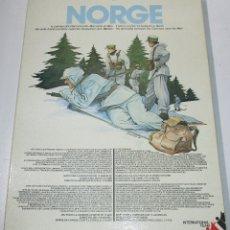 Juegos de mesa: JUEGO DE MESA NORGE WARGAME, WWII, ESTRATEGIA, NO NAC, INTERNATIONAL TEAM 1981. Lote 180036297