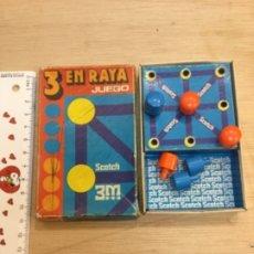 Juegos de mesa: JUEGO 3 EN RAYA. SCOTH. AÑOS 80. Lote 180094603