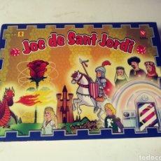 Juegos de mesa: JUEGO MESA - JOC DE SANT JORDI. Lote 180096552