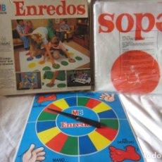 Juegos de mesa: ENREDOS (TWISTER) (1981) (MB) . Lote 180101532