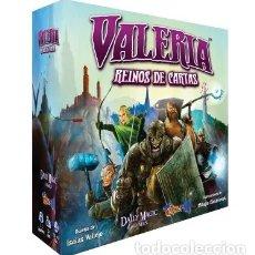 Juegos de mesa: VALERIA, REINO DE CARTAS - JUEGO DE MESA. Lote 180152730