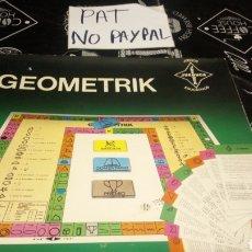 Juegos de mesa: ANTIGUO JUEGO DE MESA GEOMETRIK GEOMETRÍA JUEDUCA PARECE COMPLETO. Lote 180206681