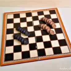 Juegos de mesa: JUEGO DE DAMAS CON FICHAS - 39X39.CM. Lote 180208682