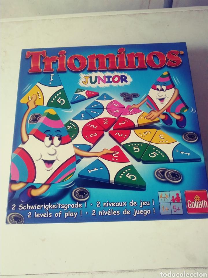 JUEGO TRIOMINOS - FALTAN 3 CARTAS (Juguetes - Juegos - Juegos de Mesa)