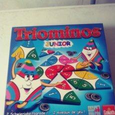 Juegos de mesa: JUEGO TRIOMINOS - FALTAN 3 CARTAS. Lote 180258671