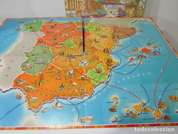Juegos de mesa: VIAJE POR ESPAÑA - AÑOS 80 - EDUCA - COMPLETO - Foto 2 - 180287735