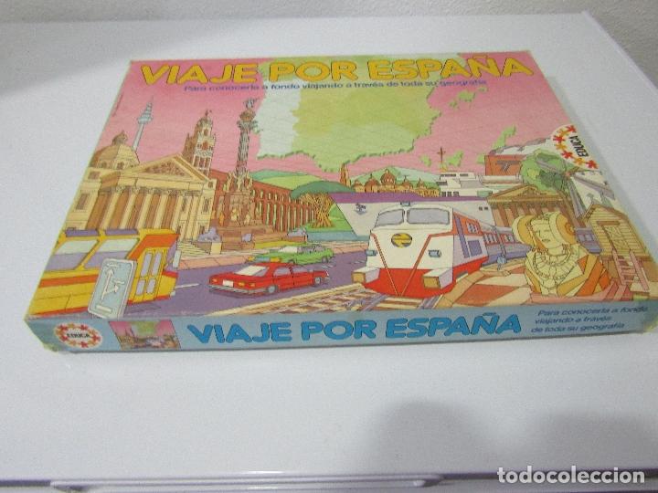 VIAJE POR ESPAÑA - AÑOS 80 - EDUCA - COMPLETO (Juguetes - Juegos - Juegos de Mesa)
