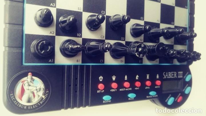 Juegos de mesa: Excalibur Chess ajedrez electrónico Saber lll - Foto 5 - 180287778