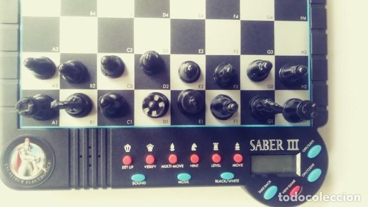 Juegos de mesa: Excalibur Chess ajedrez electrónico Saber lll - Foto 6 - 180287778