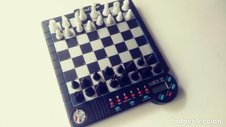 Juegos de mesa: Excalibur Chess ajedrez electrónico Saber lll - Foto 7 - 180287778