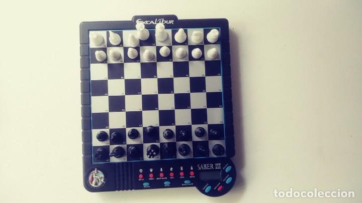 Juegos de mesa: Excalibur Chess ajedrez electrónico Saber lll - Foto 8 - 180287778