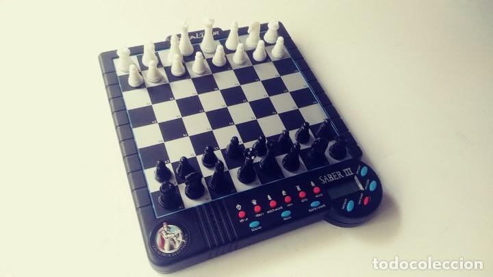 Juegos de mesa: Excalibur Chess ajedrez electrónico Saber lll - Foto 9 - 180287778