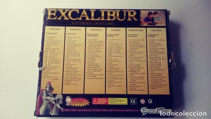 Juegos de mesa: Excalibur Chess ajedrez electrónico Saber lll - Foto 14 - 180287778