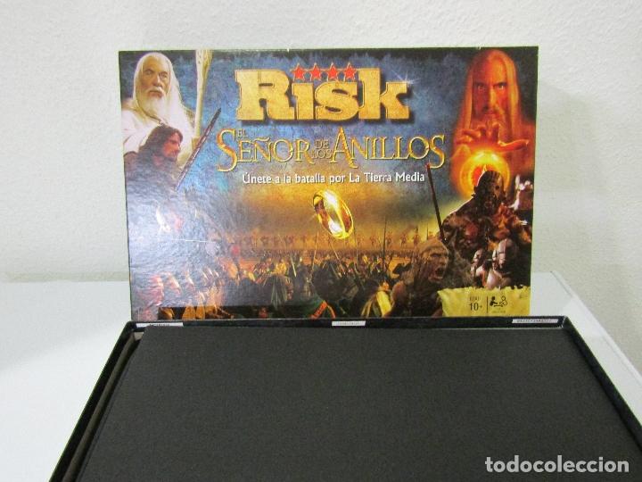 Juegos de mesa: RISK EL SEÑOR DE LOS ANILLOS - COMPLETO - NUEVO - Foto 2 - 180288203