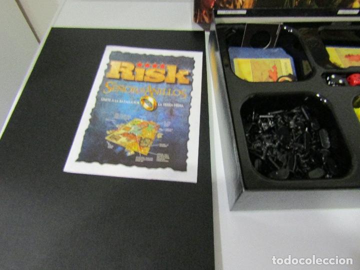 Juegos de mesa: RISK EL SEÑOR DE LOS ANILLOS - COMPLETO - NUEVO - Foto 6 - 180288203