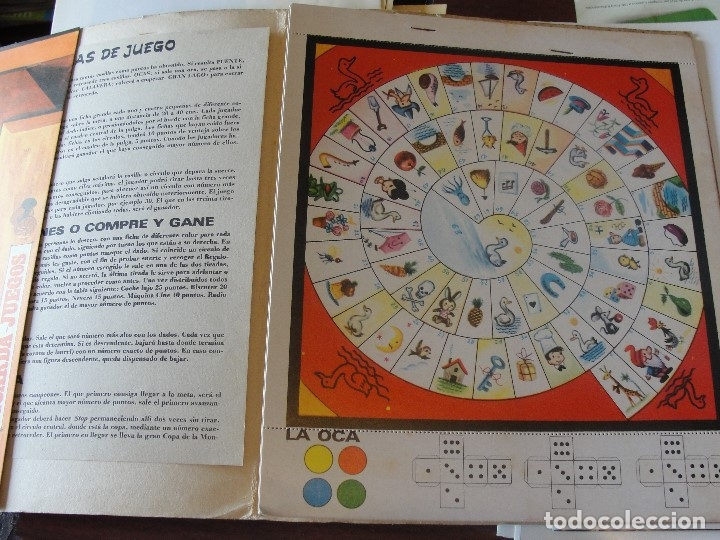 Juegos de mesa: A JUGAR Nº 1 - EDIT ROMA - COMPLETO Y POR ESTRENAR - 1971 - CASES - STOCK DE LIBRERIA SIN USAR - Foto 5 - 58341649