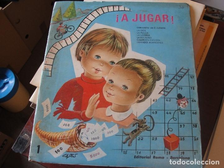 Juegos de mesa: A JUGAR Nº 1 - EDIT ROMA - COMPLETO Y POR ESTRENAR - 1971 - CASES - STOCK DE LIBRERIA SIN USAR - Foto 6 - 58341649