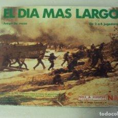 Juegos de mesa: EL DIA MAS LARGO. JUEGO DE MESA NAC MIKE & COOPER 1982 SERIE WARGAMES REF. #010. Lote 180398586
