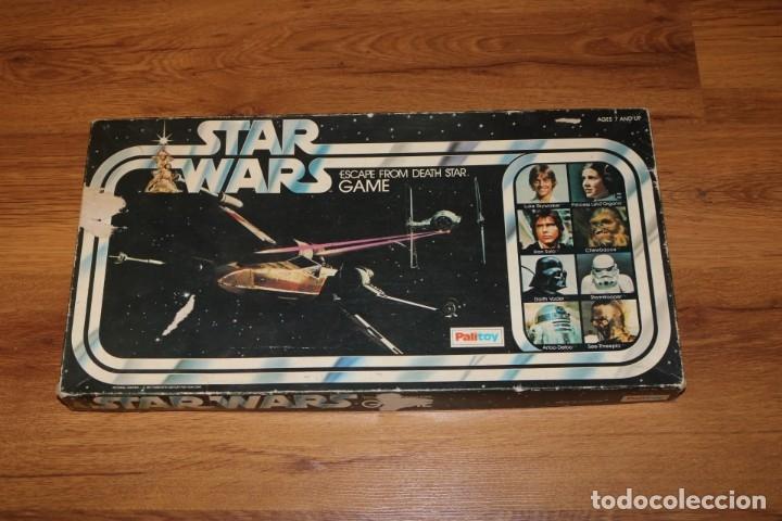 JUEGO MESA STAR WARS ESCAPE FROM DEATH STAR ESTRELLA MUERTE 1977 PALITOY CARTAS KENNER (Juguetes - Juegos - Juegos de Mesa)