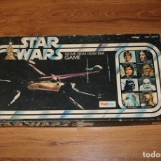 Juegos de mesa: JUEGO MESA STAR WARS ESCAPE FROM DEATH STAR ESTRELLA MUERTE 1977 PALITOY CARTAS KENNER. Lote 180427828