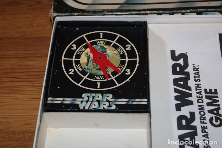Juegos de mesa: Juego mesa Star Wars Escape From Death Star Estrella Muerte 1977 Palitoy cartas Kenner - Foto 4 - 180427828