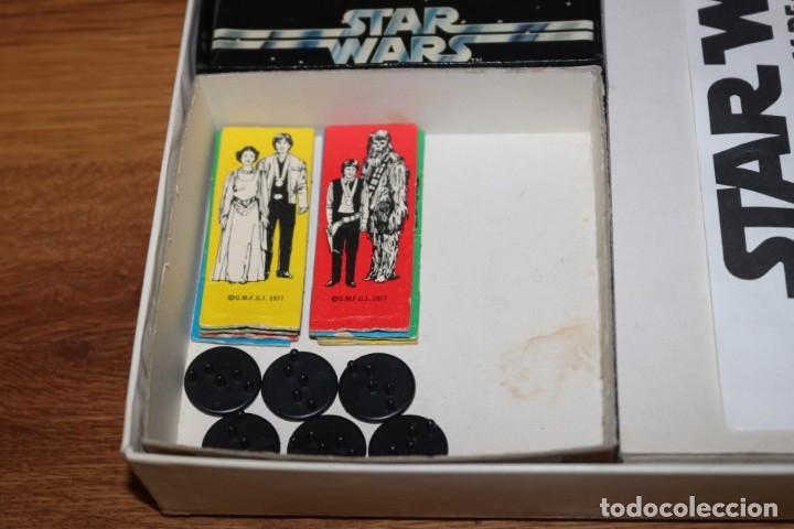Juegos de mesa: Juego mesa Star Wars Escape From Death Star Estrella Muerte 1977 Palitoy cartas Kenner - Foto 5 - 180427828