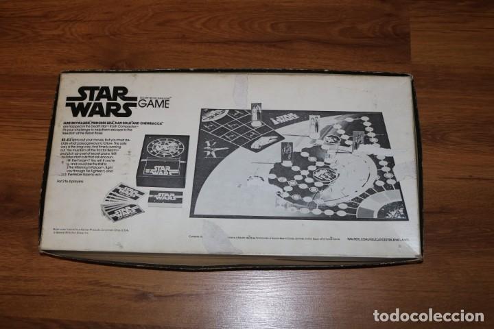 Juegos de mesa: Juego mesa Star Wars Escape From Death Star Estrella Muerte 1977 Palitoy cartas Kenner - Foto 13 - 180427828