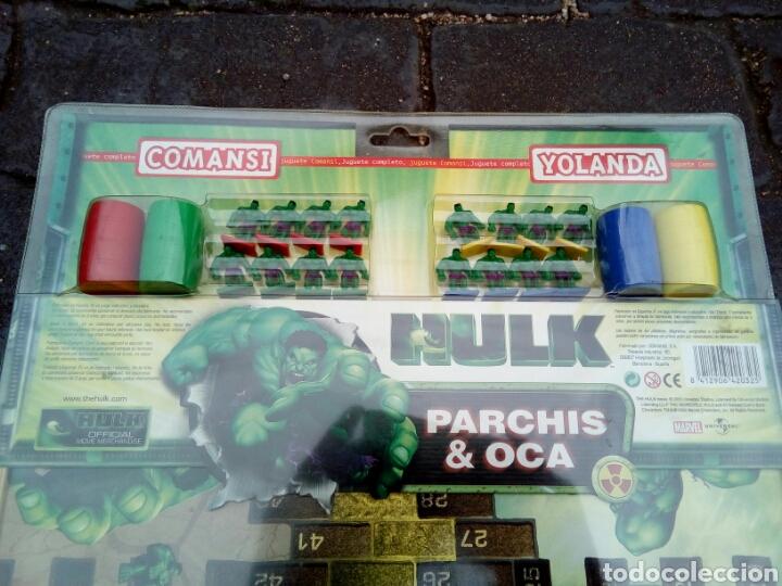 Juegos de mesa: PARCHÍS /OCA /HULK/COMANSI /NUEVO EN BLISTER - Foto 2 - 180457746