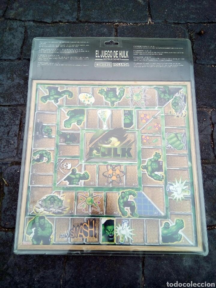 Juegos de mesa: PARCHÍS /OCA /HULK/COMANSI /NUEVO EN BLISTER - Foto 5 - 180457746
