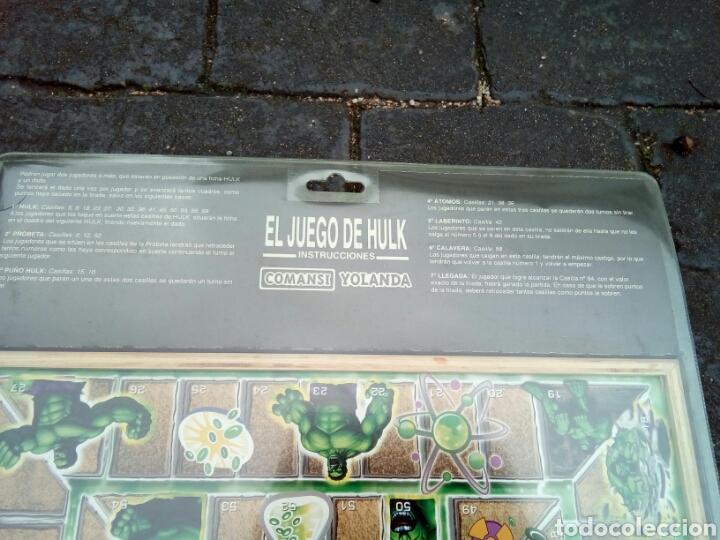 Juegos de mesa: PARCHÍS /OCA /HULK/COMANSI /NUEVO EN BLISTER - Foto 6 - 180457746