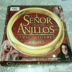 Juegos de mesa: AJEDREZ EL SEÑOR DE LOS ANILLOS -LAS DOS TORRES-. Lote 180484397