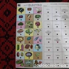 Juegos de mesa: FICHERO MULTI ELECTRO EDITORIAL JUMBO DE AÑO 1978 NUMERO E- 123 Y 124. Lote 180501987