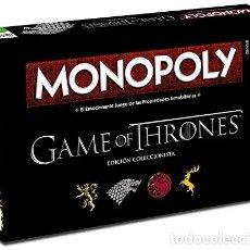 Juegos de mesa: MONOPOLY JUEGO DE TRONOS - JUEGO DE MESA. Lote 180601771