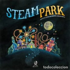 Juegos de mesa: STEAM PARK - JUEGO DE MESA. Lote 180601946