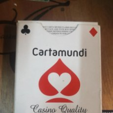 Juegos de mesa: CASINO QUALITY - PLAYING CARDS - CARTAMUNDI - BARAJA POKER. Lote 180838572