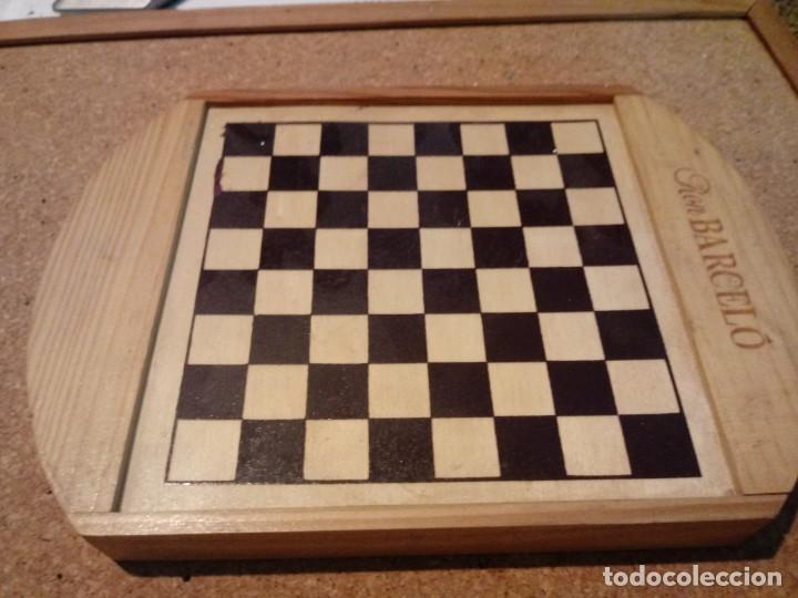 Juegos de mesa: AJEDREZ CON DAMAS Y DOMINO DE VIAJE - Foto 2 - 180906782