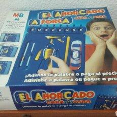 Juegos de mesa: EL AHORCADO MB HASBRO SIN USAR. Lote 180937783