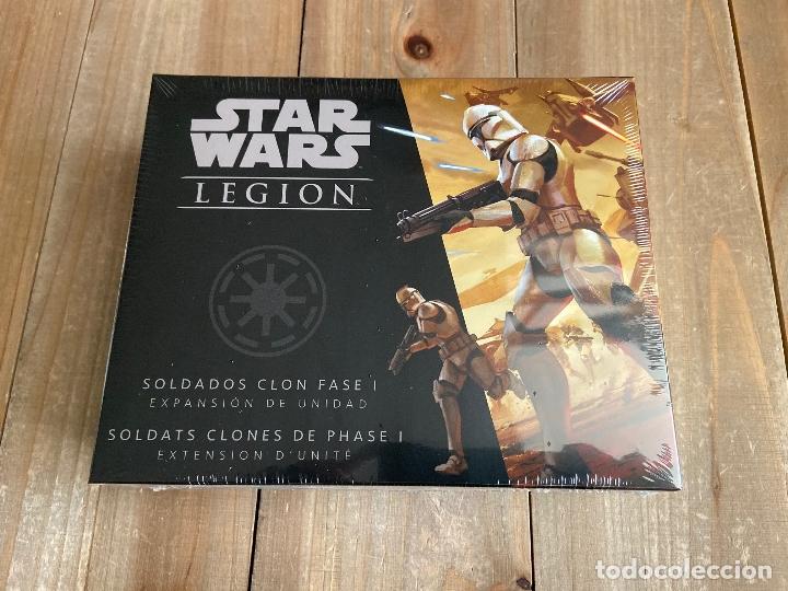 STAR WARS LEGION - LAS GUERRAS CLON - SOLDADOS CLON FASE I - JUEGO MINIATURAS FFG (Juguetes - Juegos - Juegos de Mesa)