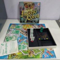 Juegos de mesa: JUEGO DE MESA IMPERIO COBRA DE CEFA COMPLETO. Lote 181409041