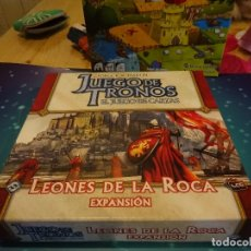 Juegos de mesa: JUEGO DE TRONOS LEONES DE LA ROCA (JUEGO DE CARTAS). Lote 181506305