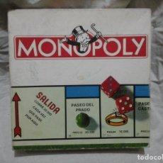 Juegos de mesa: MONOPOLY MADRID BORRAS PARKER. Lote 181565021