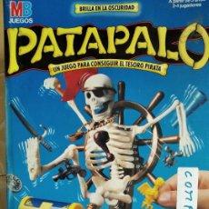 Juegos de mesa: PATAPALO DE MB - INCOMPLETO - VER FOTOS.... Lote 181587810