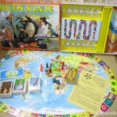 Juegos de mesa: JUEGO DE MESA BUEN VIAJE DE EDUCA, AÑO 1980, COMPLETO. Lote 181590330