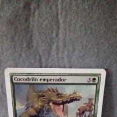Juegos de mesa: CARTA MAGIC THE GATHERING *COCODRILO EMPERADOR* ... MUY BUEN ESTADO (RARA). Lote 181795758
