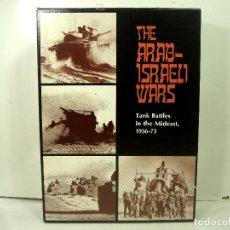 Juegos de mesa: JUEGO THE ARAB-ISRAELI WARS-AVALON HILLS 1973-COMPLETO BUEN ESTADO-GAME COMPANY BALTIMORE- WARHAMMER. Lote 181875817