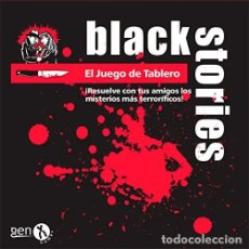 Juegos de mesa: BLACK STORIES: EL JUEGO DE TABLERO - JUEGO DE MESA. Lote 181979633