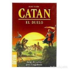 Juegos de mesa: CATAN EL DUELO - JUEGO DE MESA. Lote 181980992